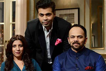 14mar kwkzoyarohit Koffee with Karan Season 4: Zoya Akhtar & Rohit Shetty