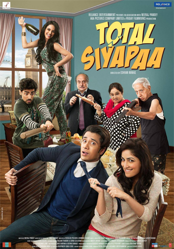 14mar totalsiyapaamovie Total Siyapaa Movie Review