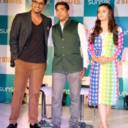 2statessunsilkpresscon4 185x185 2 States Sunsilk Press Conference with Alia Bhatt and Arjun Kapoor