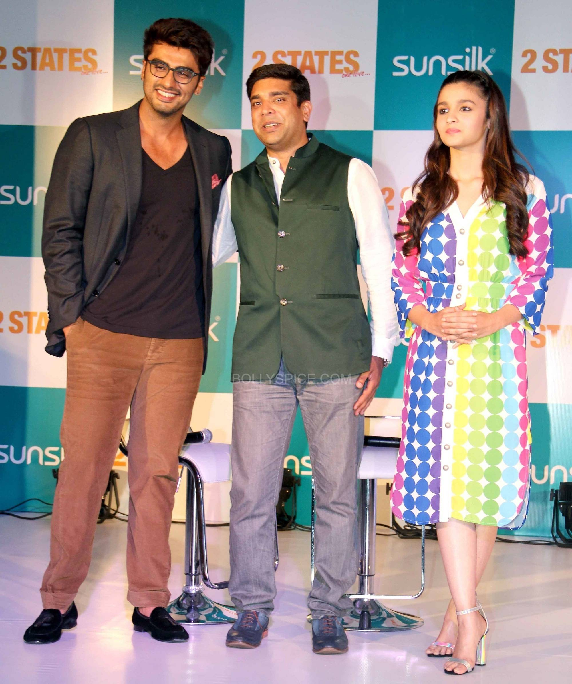 2 States-Sunsilk Press Conference with Alia Bhatt and Arjun