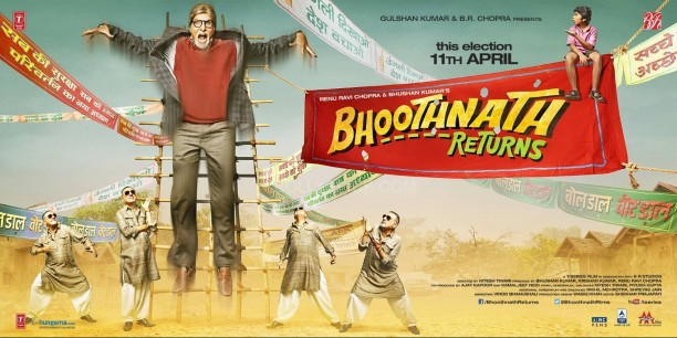 bhootnaathreturns5 612x306 More on Amitabh Bachchan and Bhoothnath Returns