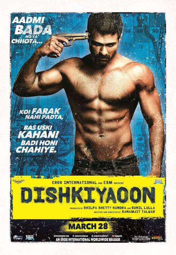 harman baweja s dishkiyaoon poster 139461378030 612x885 Dishkiyaoon Movie Review
