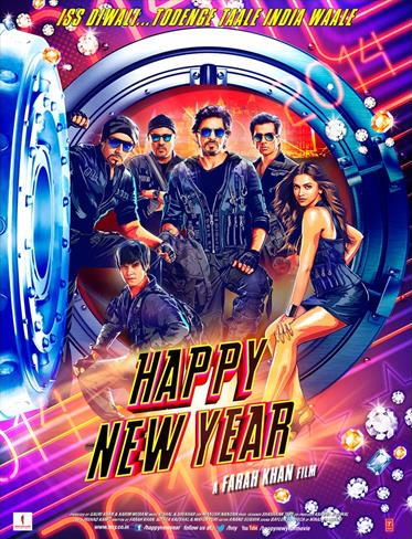hny Red Chillies and YRF join hands for Worldwide Theatrical Distribution of Happy New Year