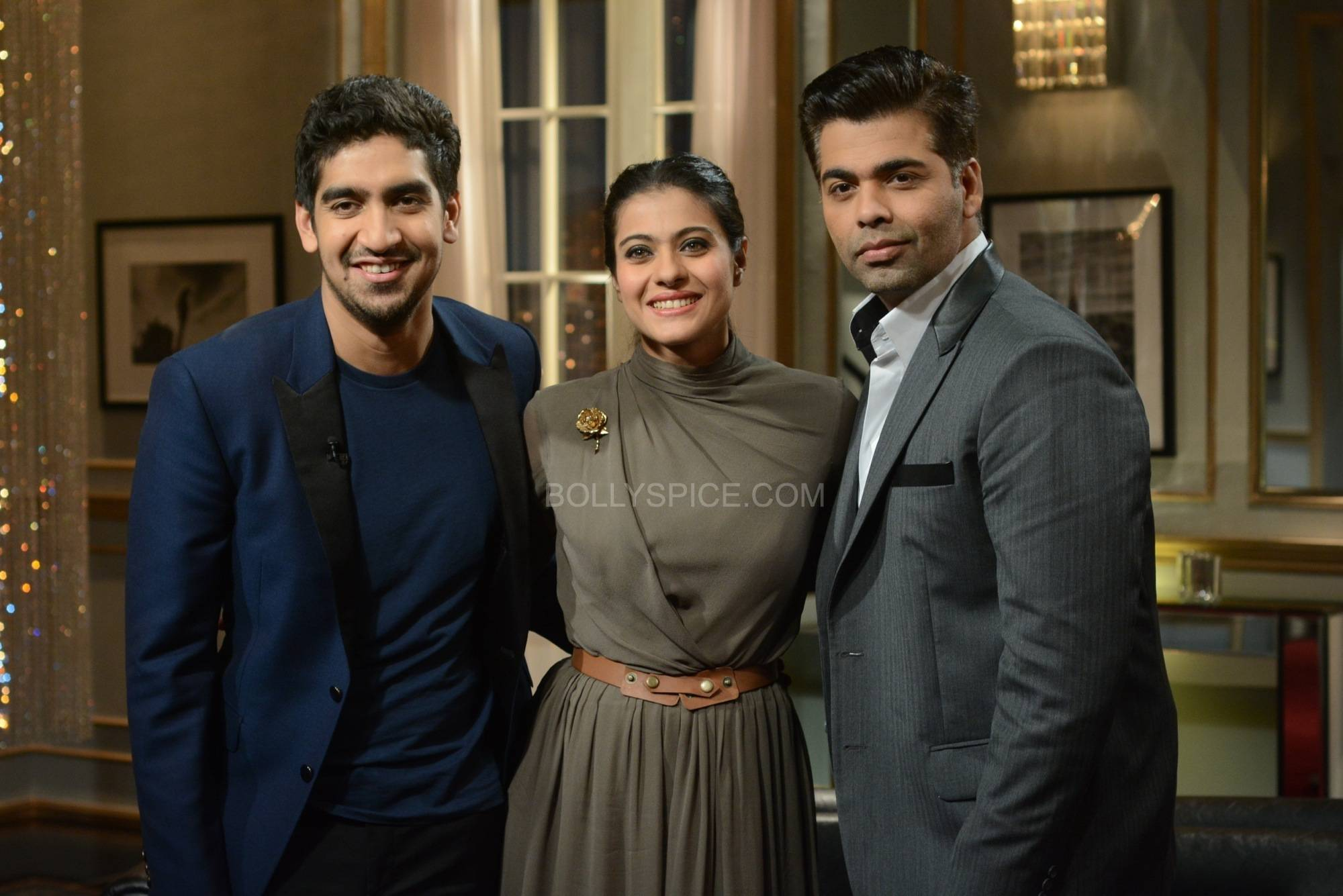 kwkkajolayan2 Koffee with Karan Season 4: Kajol and Ayan Mukherjee