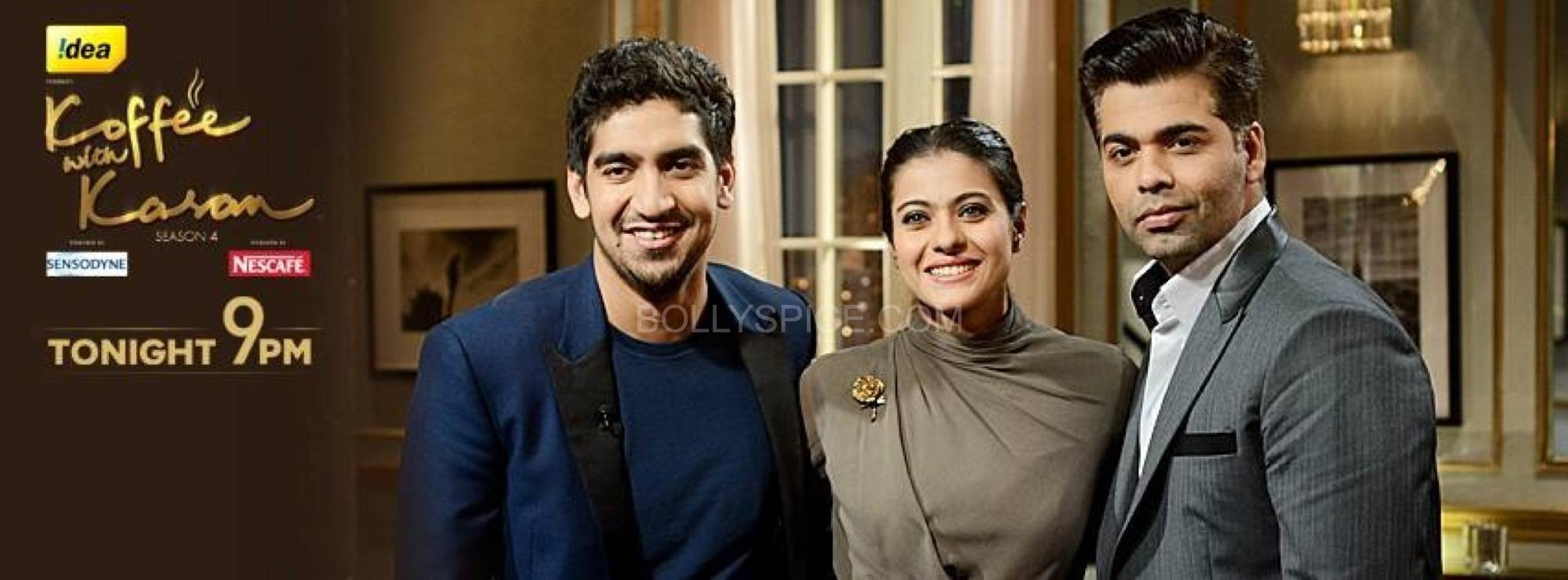 kwkkajolayan5 Koffee With Karan 4 preview   Kajol and Ayan Mukherjee