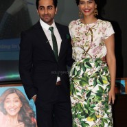 sonam kapoor and ayushman khurana 21 185x185 Sonam and Ayushman at Bewakoofiyaan Press Conference Welingkar College