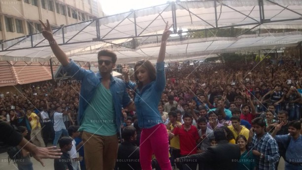 14apr 2StatesDiary1 03 612x344 Photo Diary: Arjun Kapoor and Alia Bhatt promote 2 States