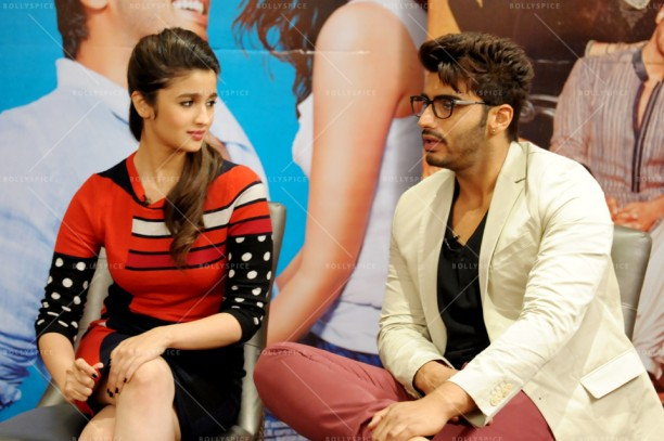 14apr 2StatesIntrvw AliaArjun03 612x407 A BollySpice Exclusive: Alia Bhatt and Arjun Kapoor Speak on 2 States: Bear hugs, girl power and more!