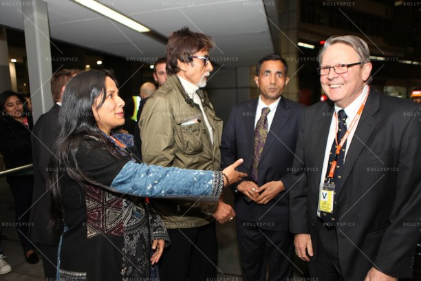 14apr AmitabhMelbourneArrival IFFM03 612x408 In Pictures: Amitabh Bachchan Arrives in Australia for the Indian Film Festival of Melbourne