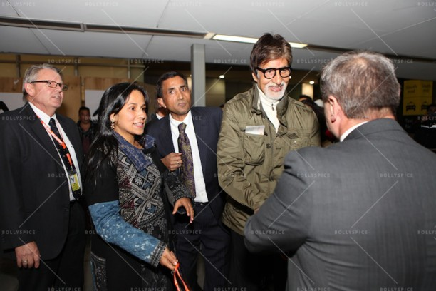 14apr AmitabhMelbourneArrival IFFM04 612x408 In Pictures: Amitabh Bachchan Arrives in Australia for the Indian Film Festival of Melbourne