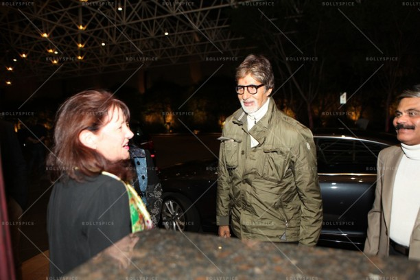 14apr AmitabhMelbourneArrival IFFM07 612x408 In Pictures: Amitabh Bachchan Arrives in Australia for the Indian Film Festival of Melbourne