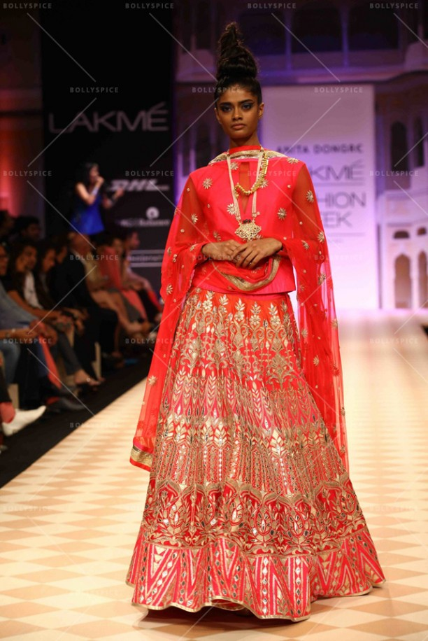 14apr DongreJaipurBride04 612x916 Anita Dongre to introduce Jaipur Bride collection at Faisana: Fashion Weekend