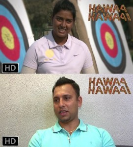 14apr HawaaHawaai DeepikaJugraj 271x300 Archer Deepika Kumari and Hockey player Jugraj Singh talk about their journey in Hawaa Hawaai dreamer video series