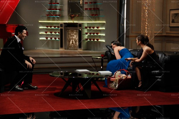 14apr KWK4 AliaParineeti02 612x408 Koffee with Karan 4 Preview: Alia Bhatt and Parineeti Chopra (Season Finale)