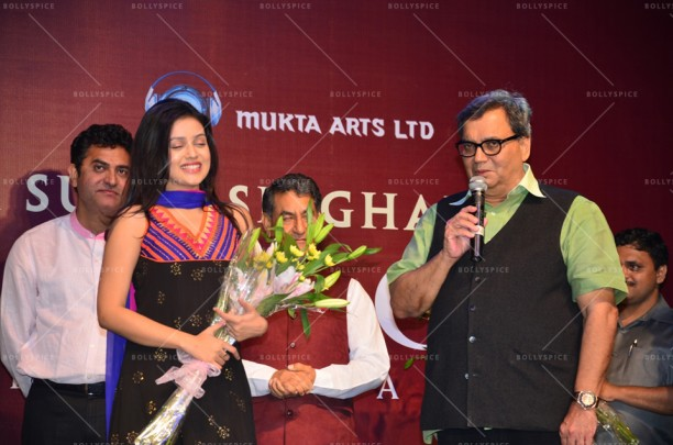 14apr Kaanchi DelhiNCR02 612x405 'Kaanchi' team celebrates its music at Delhi NCR