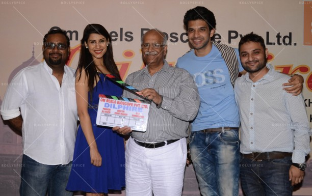 14apr KaranKundra CommenceShootDilphire03 612x385 Shoot commences for Karan Kundra starrer 'Dilphire' in Agra