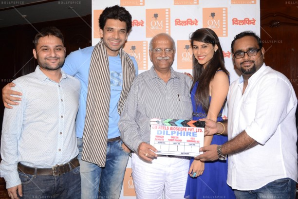 14apr KaranKundra CommenceShootDilphire04 612x409 Shoot commences for Karan Kundra starrer 'Dilphire' in Agra