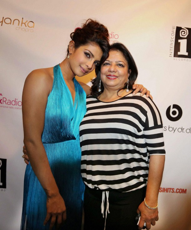 14apr PriyankaNYCsongPremiere02 612x737 Priyanka Chopras new single I Cant Make You Love Me premieres in NYC
