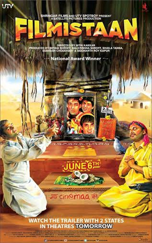 14apr filmistaan Filmistaan Poster and Synopsis