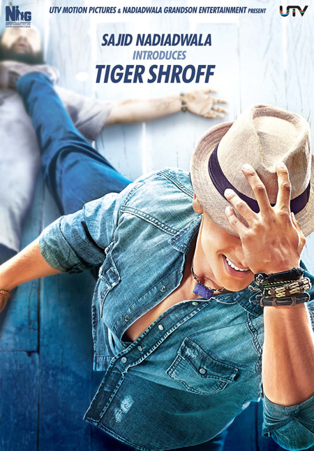 14apr heropantiposter 01 A trailer, a synopsis and two posters for Heropanti