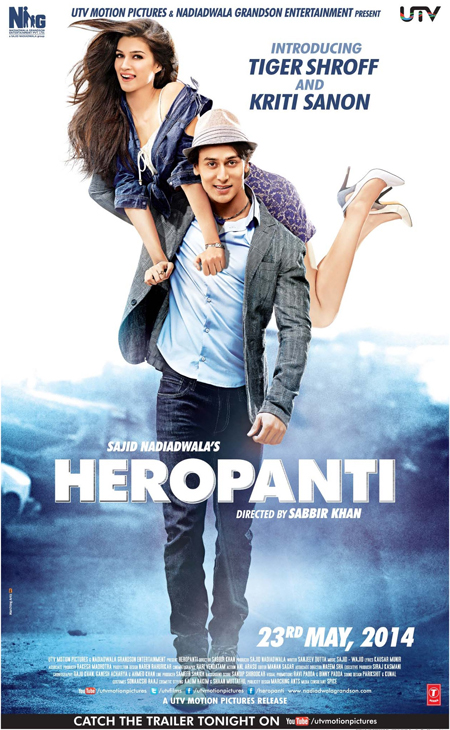 14apr heropantiposter 02 A trailer, a synopsis and two posters for Heropanti