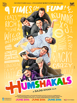 14apr humshakals Humshakals trailer promises nine times the fun