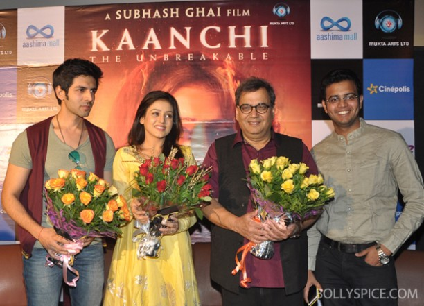 14apr kaanchitour 01 612x441 Subhash Ghai tours to promote film