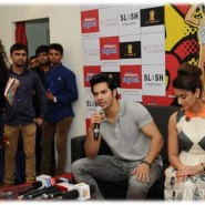 14apr mthahmedabad 01 185x185 Varun Dhawan & Ileana D'Cruz visit Reliance Digital Store in Ahmedabad