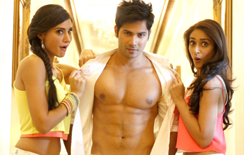 14apr varuninterview 06 Being a part of Main Tera Hero is an emotional decision   Varun Dhawan