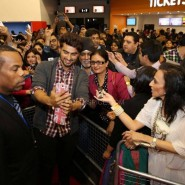 Arjun Kapoor 2 States 185x185 Alia Bhatt, Arjun Kapoor and Chetan Bhagat at Cineworld For 2 States