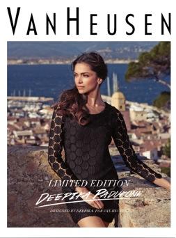 Deepika Padukone Deepika Padukones Fans Fashion Show for Van Heusen