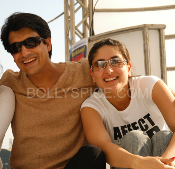Shiamak Davar with Kareena Kapoor