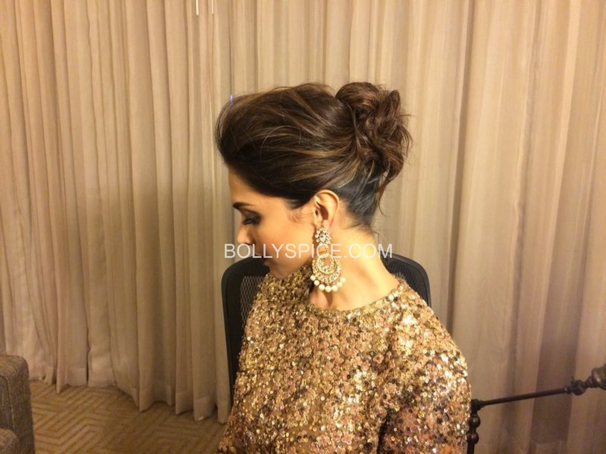 deepikaatiifaexclusive21 Exclusive IIFA Behind the Scenes Pictures of Deepika Padukones Hair and Makeup by Daniel Bauer