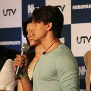 heropanti launch16 185x185 In Pictures and Video: More Aamir Khan and Tiger Shroff at Heropanti Trailer Launch!