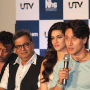 heropanti launch44 185x185 In Pictures and Video: More Aamir Khan and Tiger Shroff at Heropanti Trailer Launch!