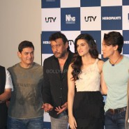 heropanti launch48 185x185 In Pictures and Video: More Aamir Khan and Tiger Shroff at Heropanti Trailer Launch!