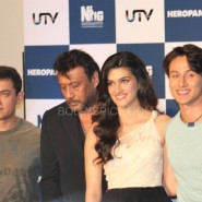 heropanti launch49 185x185 In Pictures and Video: More Aamir Khan and Tiger Shroff at Heropanti Trailer Launch!