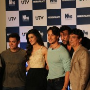 heropanti launch52 185x185 In Pictures and Video: More Aamir Khan and Tiger Shroff at Heropanti Trailer Launch!