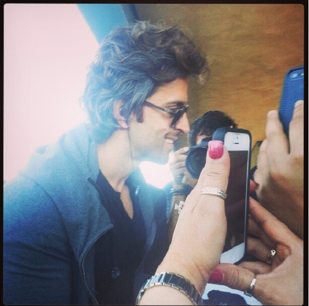 iifaday3arrivals2 In Pictures: Hrithik, Madhuri and Siddharth arrive for IIFA in Tampa   Updated With MORE