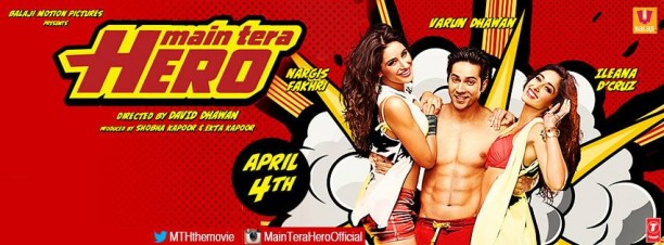 mainterahero 612x226 Main Tera Hero Movie Review