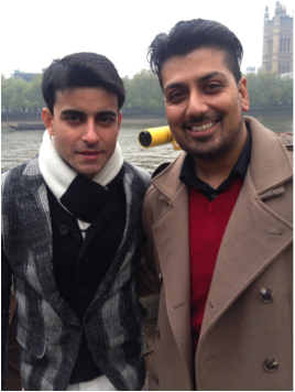 rajparmarsaraswatichand From Bollywood to Ballet to Acting! Raj Parmar gets his big break on the UK set of Saraswatichandra