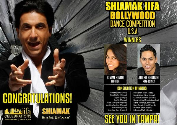 winnersiifashiamak Shiamak Announces Winners of IIFA Dance Competition!