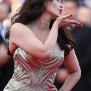14may AishwaryaCannes16 185x185 Aishwarya Rai Bachchan stunning look at Cannes 2014