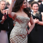 14may AishwaryaCannes30 185x185 Aishwarya Rai Bachchan stunning look at Cannes 2014
