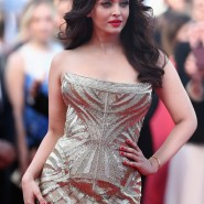14may AishwaryaCannes31 185x185 Aishwarya Rai Bachchan stunning look at Cannes 2014