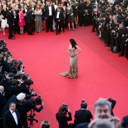 14may AishwaryaCannes47 185x185 Aishwarya Rai Bachchan stunning look at Cannes 2014