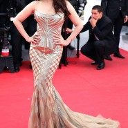 14may AishwaryaCannes55 185x185 Aishwarya Rai Bachchan stunning look at Cannes 2014