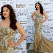 14may AishwaryaCannes56 185x185 Aishwarya Rai Bachchan stunning look at Cannes 2014