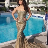 14may AishwaryaCannes66 185x185 Aishwarya Rai Bachchan stunning look at Cannes 2014