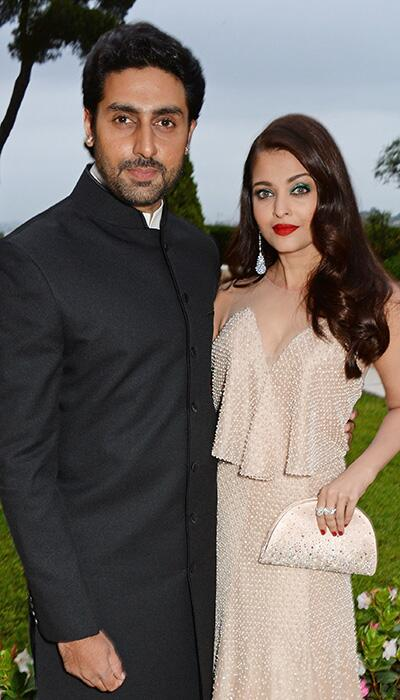 14may CannesAbhiAish amFAR03 Abhishek and Aishwarya at amfARs 21st Cinema Against AIDS Gala in Cannes 2014